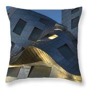 Brain Institute Building 9 Throw Pillow