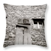 Brancusi The Kiss  Throw Pillow