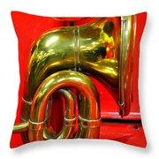 Brass Band Throw Pillow