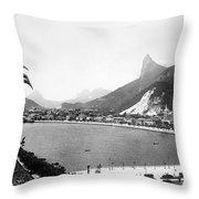 Brazil: Rio De Janeiro Throw Pillow