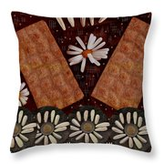 Bread And Summer Throw Pillow