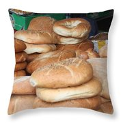 Bread Throw Pillow
