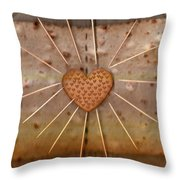 Bread  Sunshine And Love Throw Pillow