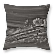 Breaking The Sound Barrier Throw Pillow