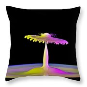Breaking Thru Throw Pillow