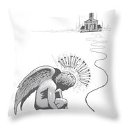 Breaking Tradition Throw Pillow