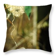Breath And Shadow Throw Pillow