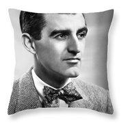 Brendan Gill (1914-1997) Throw Pillow