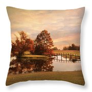 Brian's Bridge Throw Pillow by Jai Johnson