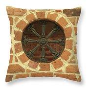 Brick And Iron Throw Pillow
