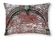 Brick Arch Throw Pillow