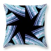 Bridge - Abstract Throw Pillow