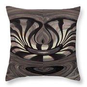 Bridge Abstract 03 Throw Pillow