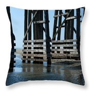 Bridge Detail Throw Pillow