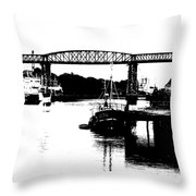 Bridge On The Boyne Throw Pillow