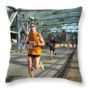 Bridge Runner Throw Pillow