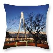 Bridge To Twilight Throw Pillow
