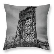 Bridge Tower 3390 Throw Pillow