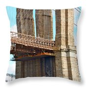 Bridge View One Throw Pillow