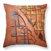 Bridges  - Tile Throw Pillow