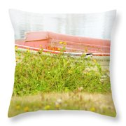 Brief Respite Throw Pillow
