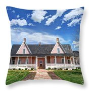 Brigham Young Forest Farm Home Throw Pillow