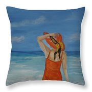 Bright Outlook Throw Pillow