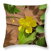 Bright Spring Throw Pillow