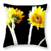 Brighten Your Day Throw Pillow