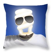 Brighter Days Throw Pillow by Mike McGlothlen