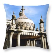 Brighton Pavilion Throw Pillow