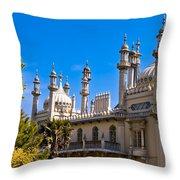 Brighton Royal Pavillion - England Throw Pillow