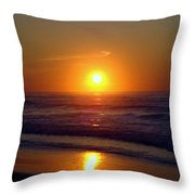 Brilliant Gold Throw Pillow