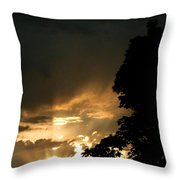 Brilliant Rays Throw Pillow
