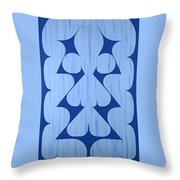 Brimley's Ghost Throw Pillow