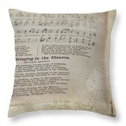 Bringing In The Sheaves Throw Pillow