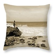 Bringing It Home Throw Pillow