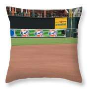 Bringing Out The Batting Cage Throw Pillow