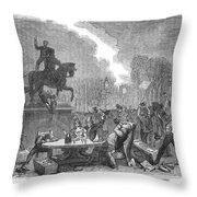 Bristol: Reform Riot, 1831 Throw Pillow