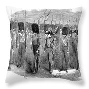 Britain: Fusiliers, 1854 Throw Pillow