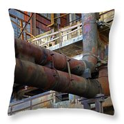 Britannia Mines Throw Pillow