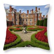 British Garden  Throw Pillow