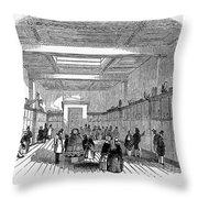 British Museum, 1845 Throw Pillow