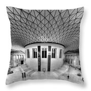 British Museum Throw Pillow