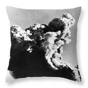 British Nuclear Test, 1952 Throw Pillow