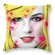 Britney  Throw Pillow