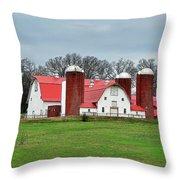 Broadacres Farm Throw Pillow