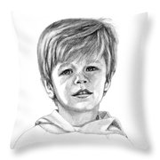Brodi At 4 Throw Pillow