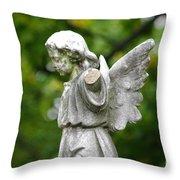 Broken Angel Throw Pillow
