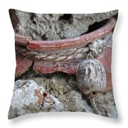Broken Pottery Throw Pillow